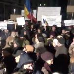 "Proteste de mari proportii in intreaga tara, mii de oameni sunt in centrul Capitalei: ""Romania cere: fara gratiere!"" – Imagini in direct"