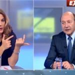 """Basescu spulbera dezinformarile de la Romania TV. I-a prins cu o minciuna atat de mare incat """"intrece si Gadea TV"""""""