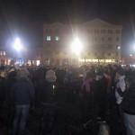 Clujenii nu asteapta ziua de miercuri. Ei sunt deja in strada pentru a protesta fata de modificarea Codului Penal – Video