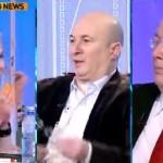 """Balamuc la Antena 3. Scandal in direct intre Dana Grecu si Codrin Stefanescu: """"Trageti-mi si trei palme!"""""""