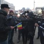 "Democratie halucinanta in Teleorman. Cum a actionat jandarmeria impotriva celor care au indraznit sa strige ""Jos Dragnea!"" – Video"