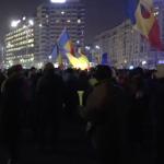"Ger naprasnic, insa tinerii sunt din nou in Piata Victoriei: ""Nu plecam acasa, hotii nu ne lasa"" – Video"