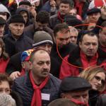 Dupa ce s-a facut de ras la mitingul de la Pitesti, deputatul PSD Catalin Radulescu nu a mai avut voie pe scena si la Targoviste