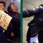 """Apelul unei tinere mame, participanta la proteste: """"Va rog in mod oficial sa ma anchetati. Dar mai inainte sa ii faceti dreptate copilului meu"""""""