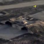 Rusii au filmat cu drona atacul cu rachete lansat de SUA in Siria. Iata imaginile – Video