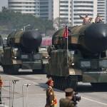 Esec rusinos al Coreei de Nord, chiar a doua zi dupa uriasa parada in care Kim Jong Un s-a laudat ca va spulbera Statele Unite