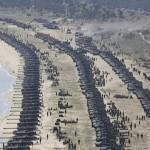 Coreea de Nord a amplasat sute de tancuri pe coasta de est. Care sunt planurile lui Kim Jong Un