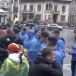 Incidente in timpul protestului din Bucuresti. Tudor Chirila face apel catre manifestanti sa isi pastreze calmul – Video