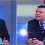 "Serban Nicolae si-a pierdut complet controlul, scandal violent la Romania TV. Cuvintele folosite: ""slugoi"", ""maimutoi"", ""anormal la cap"""