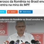 """""""Moarte misterioasa si operatiuni suspecte"""". Liviu Dragnea, protagonistul unui documentar realizat de o influenta televiziune din Brazilia"""