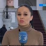 Reporterul Antena 3 care o hartuieste pe Kovesi in fiecare dimineata in fata DNA a lucrat pentru Piedone si a fost data afara pentru ca era semianalfabeta