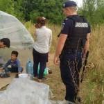 Zeci de refugiati din Siria si Irak si-au ridicat o tabara la marginea orasului Timisoara. Autoritatile privesc neputincioase