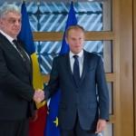 Premierul Tudose, intampinat la Bruxelles de liderii UE cu mesaje privind lupta anticoruptie. Ce are de facut seful Guvernului