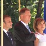 Presedintele Frantei, primit cu onoruri oficiale la Palatul Cotroceni. Ce vor discuta cei doi lideri de stat