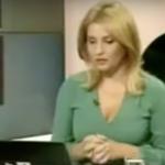Video, anuntul prezentatoarei B1 TV despre actiunea huliganica a lui Mirel Palada. Pesedistul i-a spart nasul senatorului Mihai Gotiu in studioul B1 TV