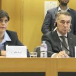 """Cei trei penibili de la Bruxelles cer acum demisia lui Kovesi pentru ca le-a zambit ironic: """"Uitati-va bine la mimica ei! O filmare care face cat 1000 de cuvinte"""" – Video"""