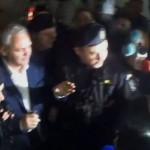 """""""La puscarie!"""". Dragnea a intrat in sediul DNA fiind pazit bine de jandarmi. Serban Nicolae afirma ca protestatarii sunt necivilizati"""