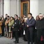 Zeci de judecatori din Cluj, impreuna cu sefii DNA si DIICOT, in strada pentru a protesta. Reactie extraordinara a clujenilor – Video