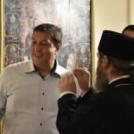 Dupa jignirile scabroase la adresa unei femei din Opozitie, senatorul PSD Serban Nicolae tine acum sa arate ca este un bun crestin