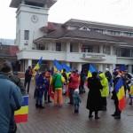 VIDEO Protestatarii clujeni au plecat din Otopeni si se indreapta spre Piata Universitatii