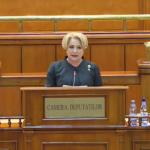 Viorica Dancila, promisiuni din plenul Parlamentului mai ceva ca intr-o campanie electorala: Nu va fi introdusa nicio taxa noua