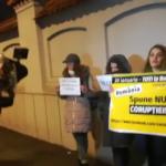 "Protest la Palatul Cotroceni. Antena 3 avertizeaza ca ""oamenii Monicai Macovei s-au dus la Cotroceni"""