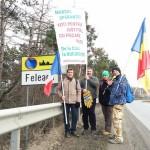 """""""Marsul sperantei"""". Dupa 450 de kilometri, clujenii care au pornit pe jos spre Bucuresti vor ajunge la destinatie"""