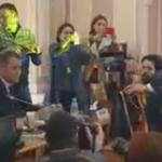 """Incepem cu scene? Voi fi nevoita sa va evacuez din interior"". Scandal in timpul audierii noului ministru al Educatiei: ""Invatati-l abecedarul, doamna!"" – Video"