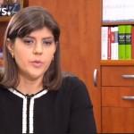 """Kovesi a declarat pentru Euronews ca lupta anticoruptie va inceta daca legile lui """"Ciordache"""" vor fi aplicate. Sefa DNA se amuza de proiectul nascut de PSD si ALDE"""