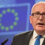 Dragnea si Iordache vor trebui sa dea socoteala in fata Comisiei Europene. Timmermans vine la Bucuresti si are programate intalniri cu cei doi complici la distrugerea Justitiei