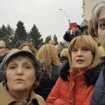 """In Piata Victoriei au fost sute de mii de oameni, insa nu s-au vazut astfel de manifestari in timpul amplelor proteste: """"Afara, jigodie, parazitule! Du-te la Soros"""" – Video"""