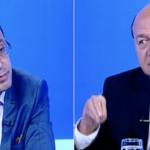 """Basescu s-a enervat, le-a spus in direct celor de la Romania TV ca ii apara pe escroci: """"Aveti o campanie de spalare a maciucilor mediatice"""""""