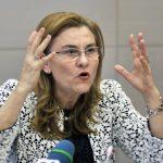 Toapa lui Voiculescu, Maria Grapini, s-a rastit la presedintele Frantei in Parlamentul European. Replica usturatoare a lui Emmanuel Macron – Video
