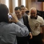 Baroneasa Firea nu accepta critici. Nicusor Dan a fost dat afara de bodyguarzii Gabrielei Firea din sedinta Consiliului General al Capitalei – Video