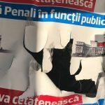 Oare care partid este deranjat de referendumul de interzicere a penalilor in functiile publice? Actiuni de vandalism