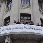"""""""Tara ne vrea prosti"""". PSD nu mai are zile multe, Universitatea Bucuresti a deschis balconul pentru prima data de la Mineriade"""