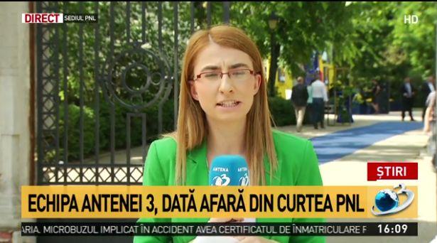 Jurnalism marca Antena 3  Un reporter al postului condus de Gadea a