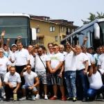 """""""Traiasca Partidul!"""" si """"Jos Iohannis"""". Cum au plecat spre Bucuresti pesedistii imbarcati de Lia Olguta Vasilescu in Dolj – Video"""