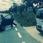 Incident dubios. Un senator PSD a accidentat masina in care se aflau Grigore Cartianu si Laurentiu Ciocazanu
