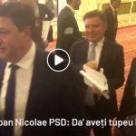"""""""Ia mai duceti-va dracului!"""" si """"Aveti tupeu, ba!"""". Reactiile parlamentarilor PSD cand li s-a cerut revocarea lui Dragnea – Video"""