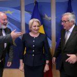 """Seful Comisiei Europene, ingrozit de mizeriile varsate de propaganda PSD, i-a spus drept in fata lui Dancila: """"Reveniti la un discurs politic decent"""""""