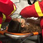 Fiica unui senator USR, inconstienta in urma represiunii brutale a jandarmilor din Piata Victoriei. A gasit-o pe targa in ambulanta