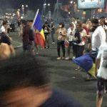 """Fosta vedeta la RTV, gazata de jandarmi in Piata Victoriei. Ea are un singur plaman: """"Sunt socata de ceea ce am trait"""""""