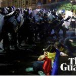 """Agresiunile salbatice din Romania sunt pe prima pagina a presei internationale: """"Sute de oameni au fost raniti, au venit sa lupte cu coruptia"""""""