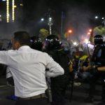 Marius Militaru, purtatorul de cuvant al Jandarmeriei, a participat la represiune. Tot el a lansat intoxicarea legata de jandarmerita Stefania