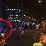 Protestatar spreiat cu gaz si apoi lovit cu pumnul in ceafa. Mai inainte jandarmii au incercat sa intre cu masina in manifestanti – Video