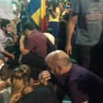 Liderul PNL il acuza pe Liviu Dragnea ca a infiltrat membri ai galeriilor de fotbal printre protestatari pentru a provoca violente