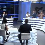 """Du-te la Antena 3. Esti asteptat acolo"". Oreste l-a determinat pe un jurnalist sa plece din studio. Acesta l-a laudat pe ""individul in alb"""