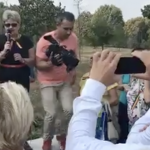 Infractorii lui Dragnea au reusit sa scoata vreo 50 de pensionari in strada. Fosta senatoare Cristiana Anghel a inviat – Video