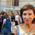 Carmen Iohannis va fi profesoara si in acest an, a preluat o noua clasa la Sibiu. Declaratii din curtea scolii